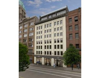 Photo 1: # 704 528 BEATTY ST in : DT Downtown Condo for sale (VW Vancouver West)  : MLS®# V637526