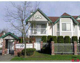 "Photo 1: 8972 FLEETWOOD Way in Surrey: Fleetwood Tynehead Townhouse for sale in ""PARKRIDGE GARDENS"" : MLS®# F2708764"