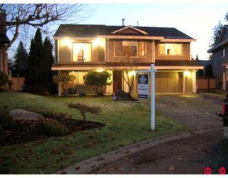 """Photo 1: 16170 SPRINGSIDE Court in Surrey: Fraser Heights House for sale in """"Fraser Glen"""" (North Surrey)  : MLS®# F2801624"""