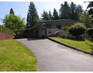 Photo 1: 2904 EDDYSTONE in North_Vancouver: Windsor Park NV House for sale (North Vancouver)  : MLS®# V648535