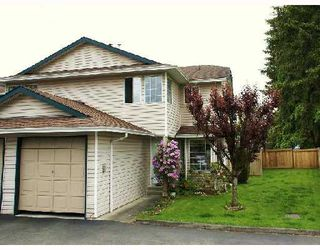 Main Photo: 6 21541 MAYO Place in Maple_Ridge: West Central Townhouse for sale (Maple Ridge)  : MLS®# V696031