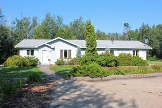 Photo 1: 38 26321 HWY 627: Rural Parkland County House for sale : MLS®# E4165645