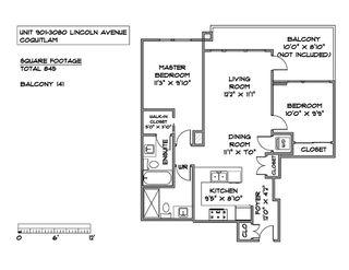 Photo 21: 901 3080 LINCOLN AVENUE in Coquitlam: North Coquitlam Condo for sale : MLS®# R2465679