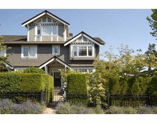 Photo 1: 3077 W 2ND Avenue in Vancouver: Kitsilano Townhouse for sale (Vancouver West)  : MLS®# V658846