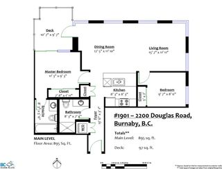 "Photo 35: 1901 2200 DOUGLAS Road in Burnaby: Brentwood Park Condo for sale in ""AFFINITY"" (Burnaby North)  : MLS®# R2457772"