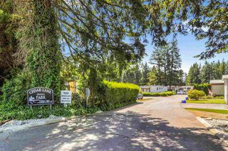 """Photo 2: 33 2305 200 Street in Langley: Brookswood Langley Manufactured Home for sale in """"Cedar Lane Park"""" : MLS®# R2465102"""