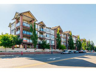 """Photo 1: 334 5660 201A Street in Langley: Langley City Condo for sale in """"Paddington Station"""" : MLS®# R2498914"""