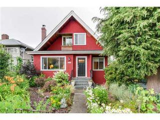 Photo 1: 4163 ETON Street: Vancouver Heights Home for sale ()  : MLS®# V1076893