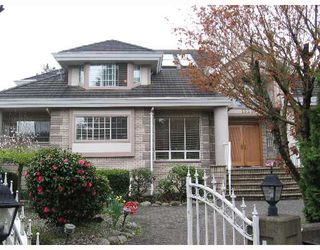 Photo 1: 1520 W 32ND Avenue in Vancouver: Shaughnessy House for sale (Vancouver West)  : MLS®# V640679