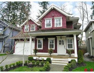 """Photo 1: 15077 34TH Avenue in Surrey: Morgan Creek House for sale in """"ROSEMARY WEST"""" (South Surrey White Rock)  : MLS®# F2720824"""