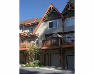 """Photo 1: 134 2000 PANORAMA DR in Port Moody: Heritage Woods PM Townhouse for sale in """"MOUNTAINS EDGE"""" : MLS®# V558290"""
