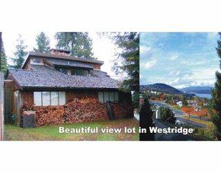 Main Photo: 7222 RIDGE DR in Burnaby: Westridge Burnaby House for sale (Burnaby North)  : MLS®# V564700