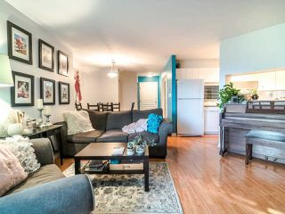 "Photo 6: 210 8450 JELLICOE Street in Vancouver: South Marine Condo for sale in ""THE BOARDWALK"" (Vancouver East)  : MLS®# R2406380"