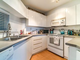 "Photo 10: 210 8450 JELLICOE Street in Vancouver: South Marine Condo for sale in ""THE BOARDWALK"" (Vancouver East)  : MLS®# R2406380"