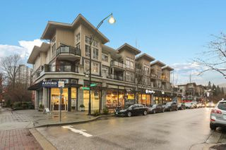 """Photo 1: 409 201 MORRISSEY Road in Port Moody: Port Moody Centre Condo for sale in """"LIBRA in SUTERBROOK"""" : MLS®# R2518990"""
