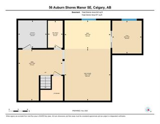 Photo 44: 56 AUBURN SHORES Manor SE in Calgary: Auburn Bay Detached for sale : MLS®# A1052787
