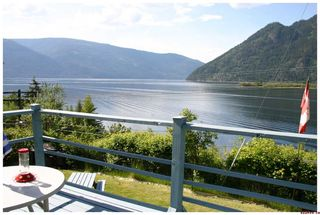 Photo 2: 16 Bruhn Road in Sicamous: Waterfront Residential Detached for sale : MLS®# 10002556