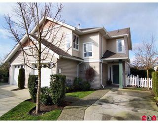 "Photo 1: 7 6513 200TH Street in Langley: Willoughby Heights Townhouse for sale in ""Logans Creek"" : MLS®# F2808122"