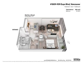 """Photo 18: 1809 939 EXPO Boulevard in Vancouver: Yaletown Condo for sale in """"MAX II"""" (Vancouver West)  : MLS®# R2491297"""