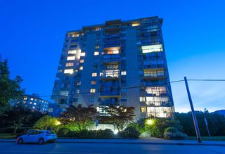 "Main Photo: 601 555 13TH Street in West Vancouver: Ambleside Condo for sale in ""Parkview Tower"" : MLS®# R2507635"