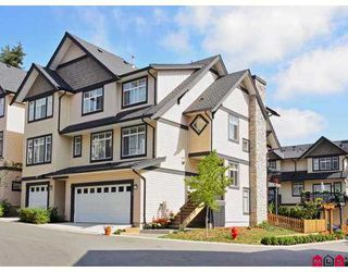 "Photo 1: 70 19932 70TH Avenue in Langley: Willoughby Heights Townhouse for sale in ""SUMMERWOOD"" : MLS®# F2723085"