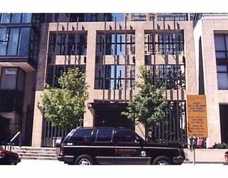 """Main Photo: 1505 1155 HOMER ST in Vancouver: Downtown VW Condo for sale in """"CITY CREST"""" (Vancouver West)  : MLS®# V586147"""