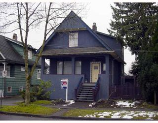 Main Photo: 878 W 17TH Avenue in Vancouver: Cambie House for sale (Vancouver West)  : MLS®# V686572