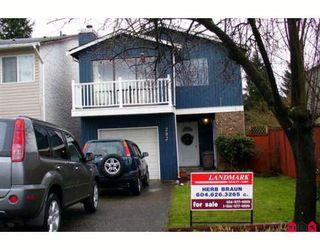 "Main Photo: 202 DAVIS in Langley: Aldergrove Langley House for sale in ""Springfield Village"" : MLS®# F2800953"