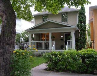 Photo 1: 535 SHERBURN ST in WINNIPEG: West End / Wolseley Residential for sale (Central Winnipeg)  : MLS®# 2915600