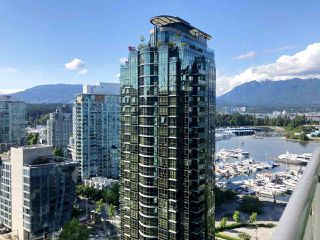 Photo 1: 2302 1328 W PENDER Street in Vancouver: Coal Harbour Condo for sale (Vancouver West)  : MLS®# R2478899