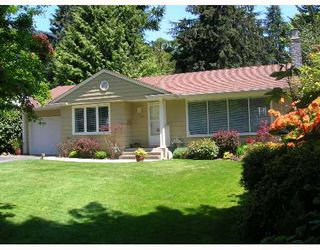 Main Photo: 4724 PHEASANT Place in North_Vancouver: Canyon Heights NV House for sale (North Vancouver)  : MLS®# V649991