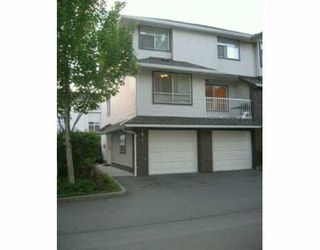 Photo 1: 26 2450 LOBB AV in Port Coquiltam: Mary Hill Townhouse for sale (Port Coquitlam)  : MLS®# V594050