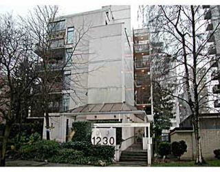 "Main Photo: 1230 COMOX Street in Vancouver: West End VW Condo for sale in ""LA MIRAGE"" (Vancouver West)  : MLS®# V629527"
