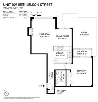 """Photo 6: 109 1535 NELSON Street in Vancouver: West End VW Condo for sale in """"The Admiral"""" (Vancouver West)  : MLS®# R2460429"""