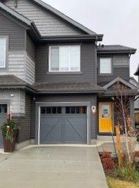 Photo 2: 3809 CHRUSTAWKA Place in Edmonton: Zone 55 House Half Duplex for sale : MLS®# E4184808