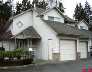 "Photo 1: 45 32361 Mcrae Avenue in Mission: Townhouse for sale in ""Spencer Estates"" : MLS®# F1003310"