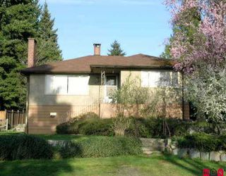 "Photo 1: 9622 TOWNLINE DI in Surrey: Royal Heights House for sale in ""ROYAL HEIGHTS"" (North Surrey)  : MLS®# F2510294"