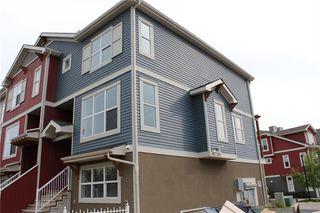 Photo 1: 814 10 Auburn Bay Avenue SE in Calgary: Auburn Bay Row/Townhouse for sale : MLS®# C4285927