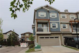 Photo 2: 814 10 Auburn Bay Avenue SE in Calgary: Auburn Bay Row/Townhouse for sale : MLS®# C4285927