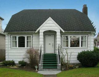 Photo 1: 818 W 24TH Avenue in Vancouver: Cambie House for sale (Vancouver West)  : MLS®# V632521