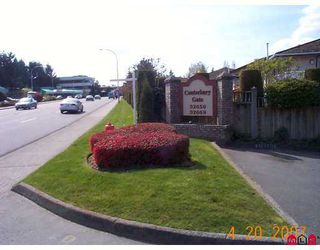 Photo 2: 11 32659 GEORGE FERGUSON Way in Abbotsford: Abbotsford West Townhouse for sale : MLS®# F2710081