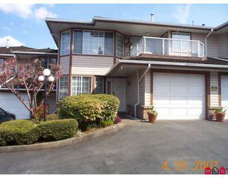 Photo 1: 11 32659 GEORGE FERGUSON Way in Abbotsford: Abbotsford West Townhouse for sale : MLS®# F2710081