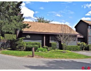 "Photo 1: 38 6086 E GREENSIDE Drive in Surrey: Cloverdale BC Townhouse for sale in ""Greenside Estates"" (Cloverdale)  : MLS®# F2815227"
