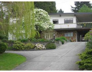 Photo 1: 1064 HOLDOM Ave: Parkcrest Home for sale ()  : MLS®# V707904