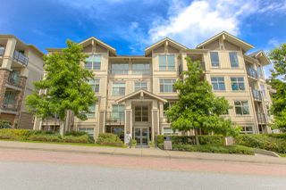 """Photo 1: 107 255 ROSS Drive in New Westminster: Fraserview NW Condo for sale in """"THE GROVE"""" : MLS®# R2473167"""