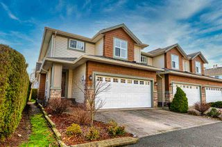 "Photo 1: 11 7475 GARNET Drive in Chilliwack: Sardis West Vedder Rd Townhouse for sale in ""SILVER CREEK ESTATES"" (Sardis)  : MLS®# R2527822"