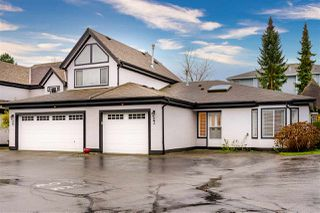 "Photo 1: 27 8567 164 Street in Surrey: Fleetwood Tynehead Townhouse for sale in ""Monta Rosa"" : MLS®# R2523953"