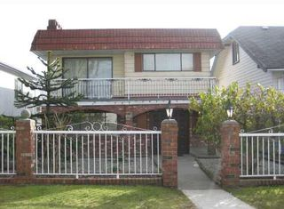 Photo 1: 3482 Franklin Street in Vancouver: Hastings East House for sale (Vancouver East)  : MLS®# V755001