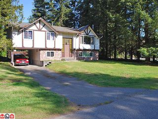 "Photo 1: 4060 202A ST in Langley: Brookswood Langley House for sale in ""BROOKSWOOD"" : MLS®# F1014092"