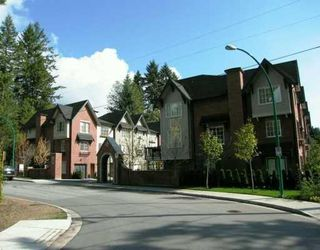 """Photo 1: 42 550 BROWNING Place in North_Vancouver: Seymour Townhouse for sale in """"TANAGER"""" (North Vancouver)  : MLS®# V709565"""